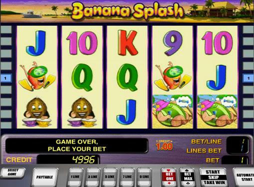 Banana Splash spill spilleautomat online