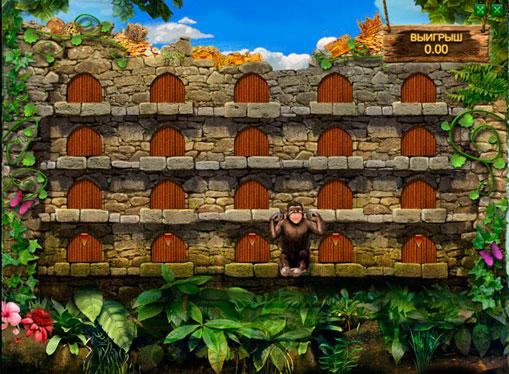 Bonusspill i spilleautomat Happy Jungle