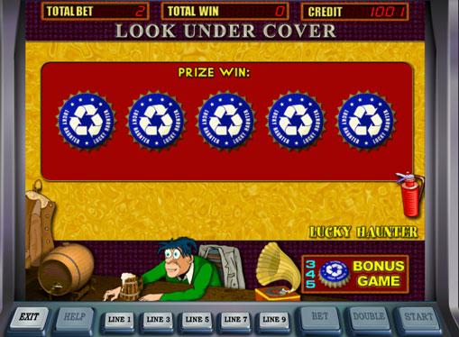 Bonusspill i spilleautomat Lucky Haunter