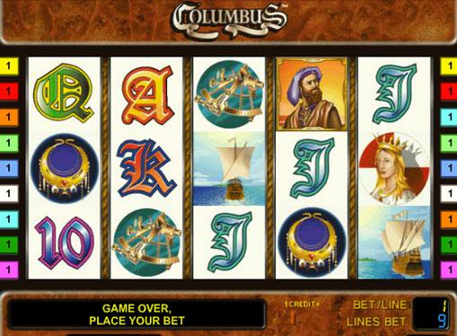 Columbus spille spilleautomat online for penger