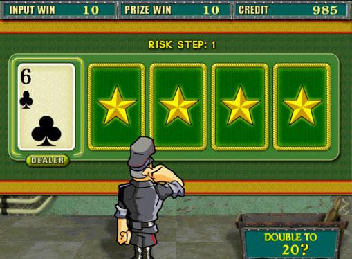 Dobling spill av spilleautomat Resident
