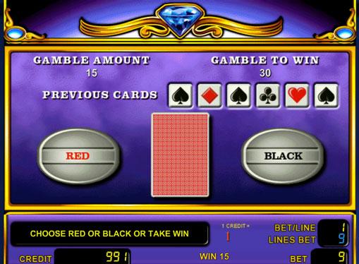 Dobling spill av spilleautomat Unicorn Magic