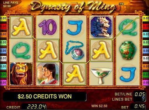 Dynasty of Ming spille spilleautomat online for penger