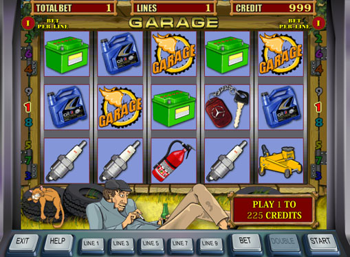 Garage spille spilleautomat online