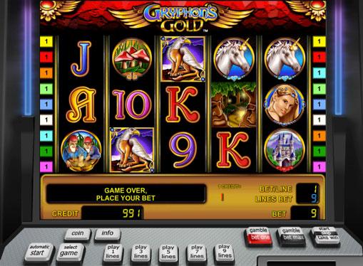 Gryphon's Gold spille spilleautomat online for penger
