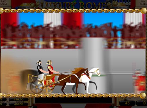 Hjul av Luxury Rome og umiddelbare bonuser