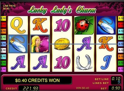 Hjulene til slottet Lucky Lady's Charm