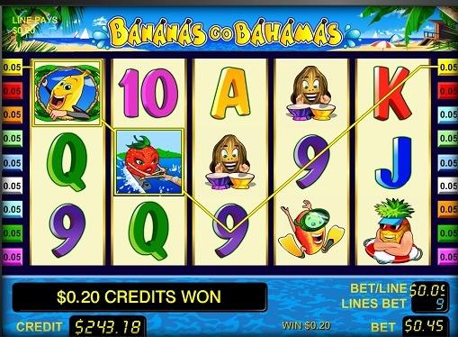 Hjulene til sporet Bananas gehen Bahamas
