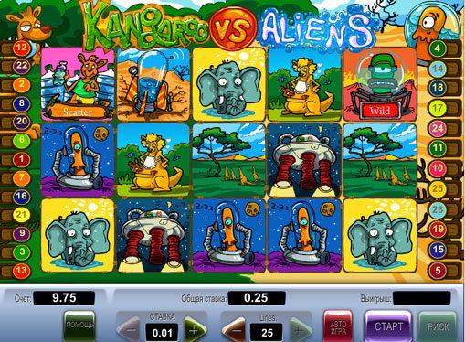 Kangaroo vs Aliens Spielen spille spilleautomat online for penger