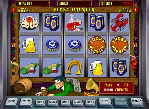 Lucky Haunter spille spilleautomat online for penger
