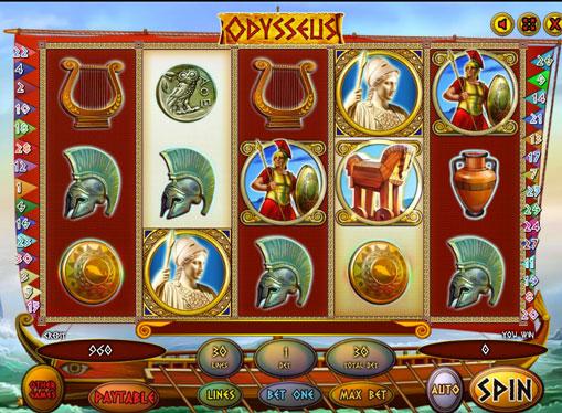 Odysseus spille spilleautomat online for penger