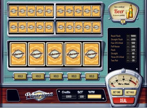 Pokerama spille spilleautomat online for penger