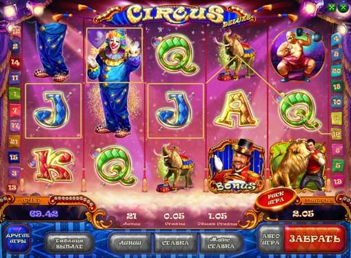 Priser av spilleautomat Circus HD