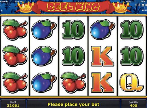 Reel King spille spilleautomat online for penger