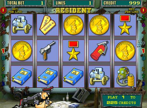 Resident spille spilleautomat online