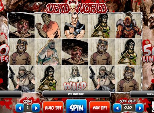 Roller av spilleautomat Deadworld