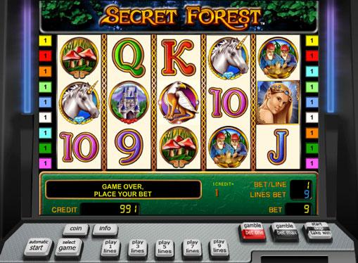 Secret Forest spille spilleautomat online for penger