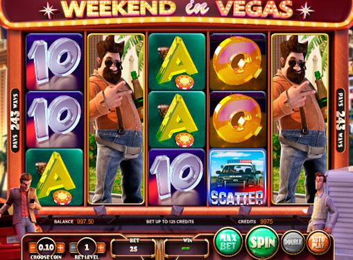 Spielautomaten Weekend in Vegas online pengespill med tilbaketrekking