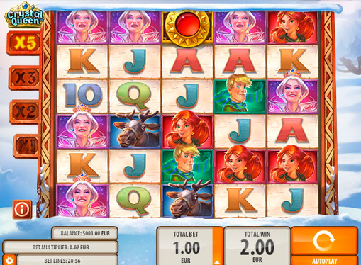 Spill spilleautomater for penger - Crystal Queen