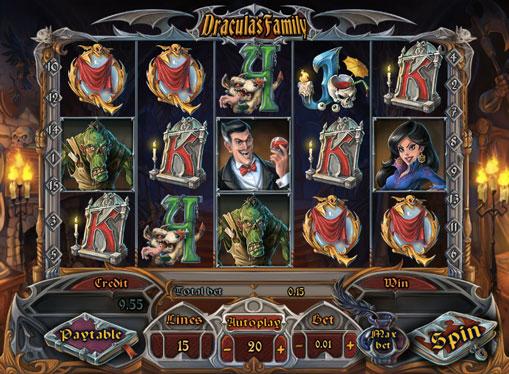 Spilleautomat Dracula`s Family for penger
