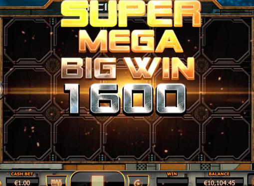 Super mega vinner i spilleautomat Incinerator