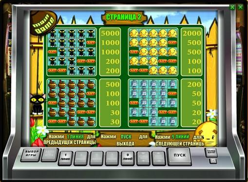 Symboler på en spilleautomat Keks