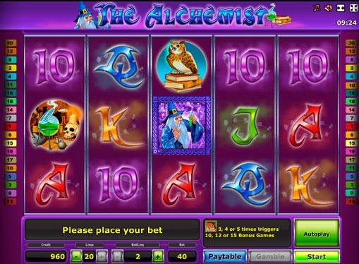 The Alchemist spille spilleautomat online