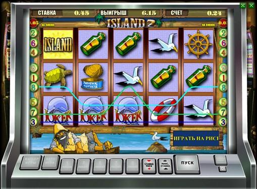 Utseendet til spilleautomat Island 2