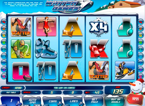 Winter Games spille spilleautomat online for penger